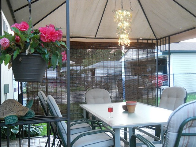 Diy Outdoor Gazebo Chandelier Traditional Patio Other