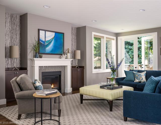 Queen Anne Living Room Design