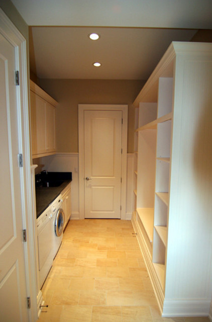 Laundry Room With Built Ins Traditional Laundry Room