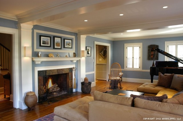 Modern Twist On A Traditional Space Traditional Living