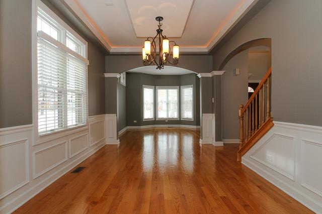 Lawndale After Re Design Traditional Living Room Chicago