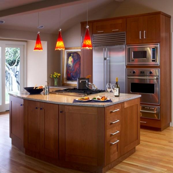 installing pendant lights over kitchen island # 16