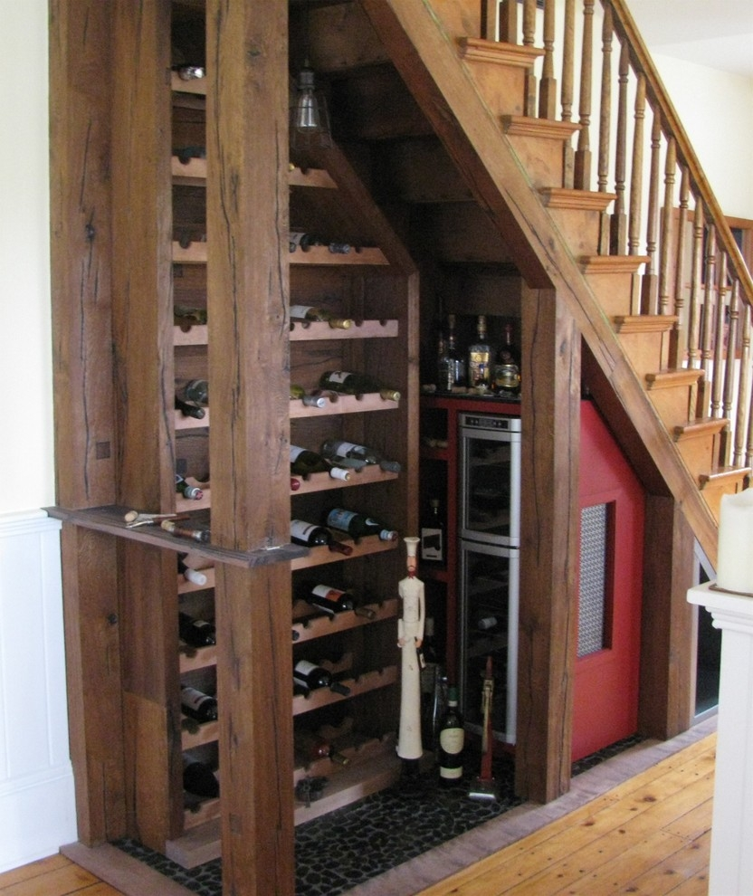 Wine Bar Under Stairs Home Bar Other By Get Organized By Design   Bar Under The Stairs Design   Living Room   Stair Storage   Interior Design   Wine Cellar   Storage