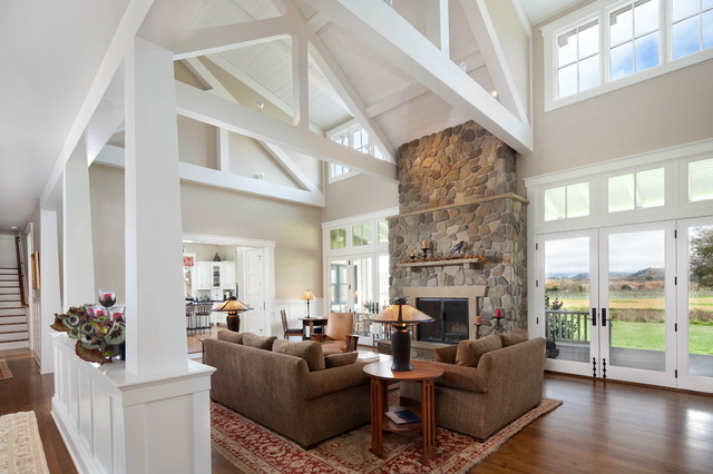 Modern Country Living Rooms