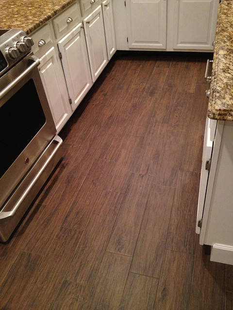 Porcelain Plank Wood Look Tile Installations Tampa Florida