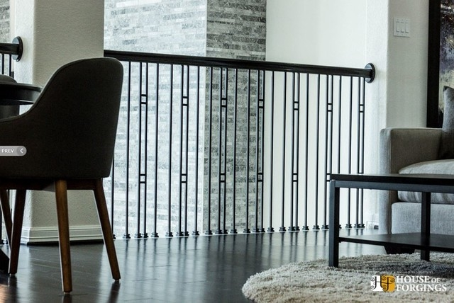 House Of Forgings Iron Balusters Contemporary Houston By | House Of Forgings Balusters | Oval | Contemporary | Oil Rubbed | Modern | Forged Steel