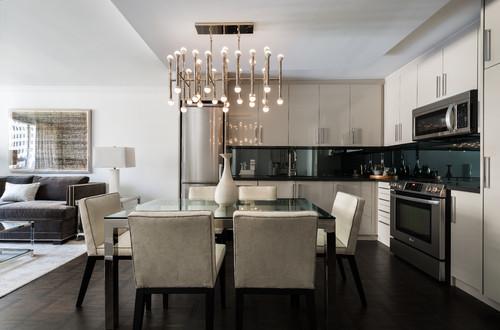 pendant lighting over kitchen island # 26