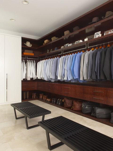 Master Closet Contemporary Closet Detroit By