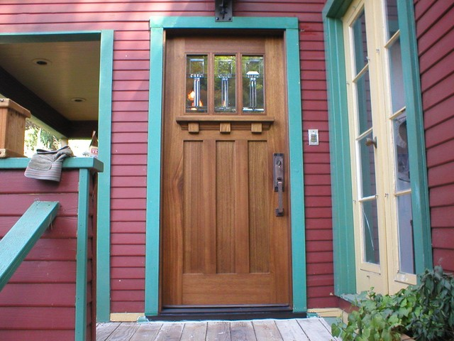 Mission Style Exterior Doors