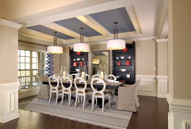 Transitional Pendant Lighting Kitchen