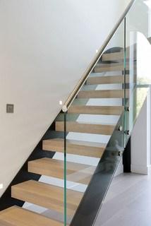 Quarter Turn Staircase Photos Designs Ideas   Quarter Turn Staircase Design   Winder Staircase   Oak   Turning   Oval Shaped   Modern
