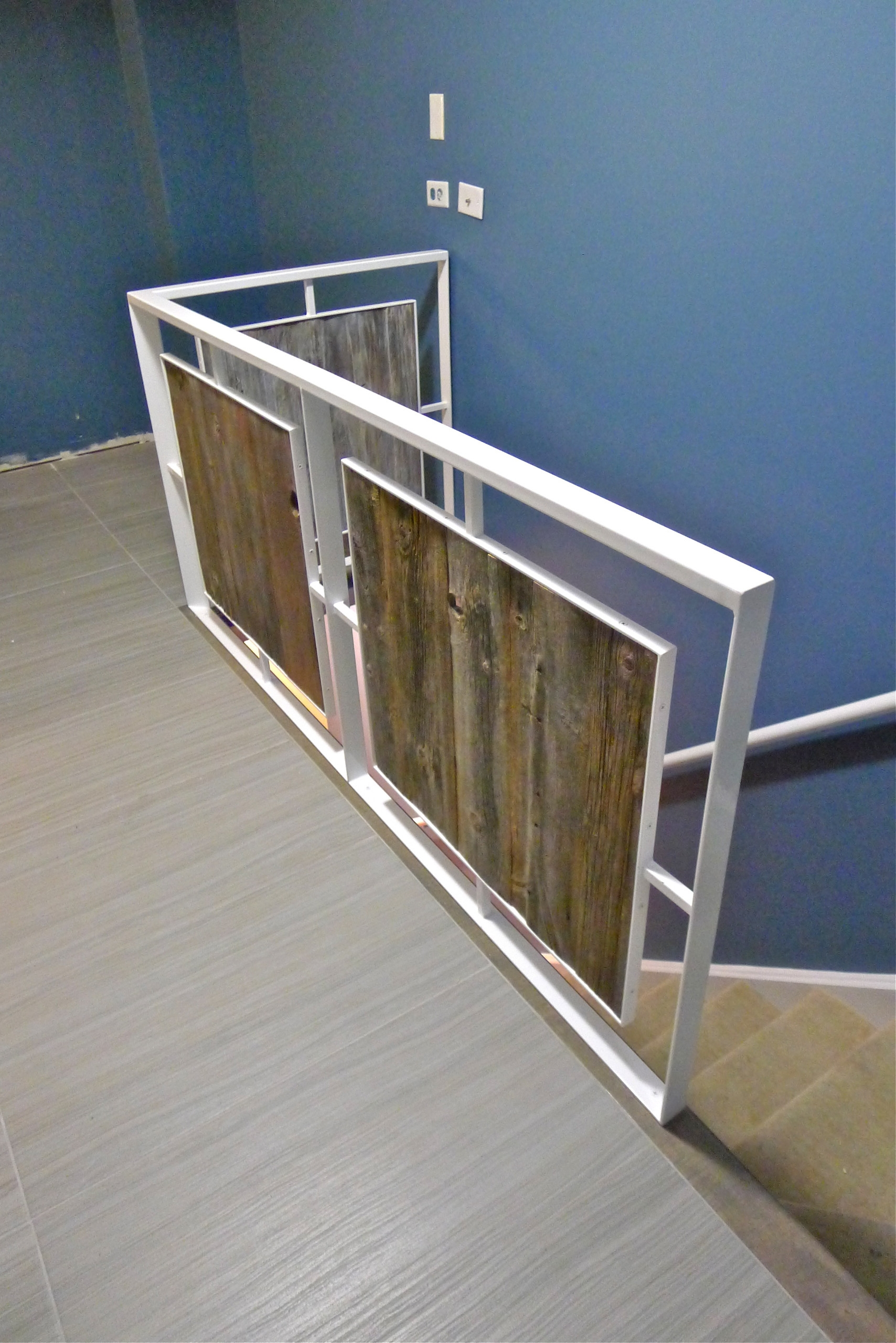 Steel Wood Stair Houzz | Steel And Wood Staircase | Glass | Custom | Handrail | Contemporary | Inside