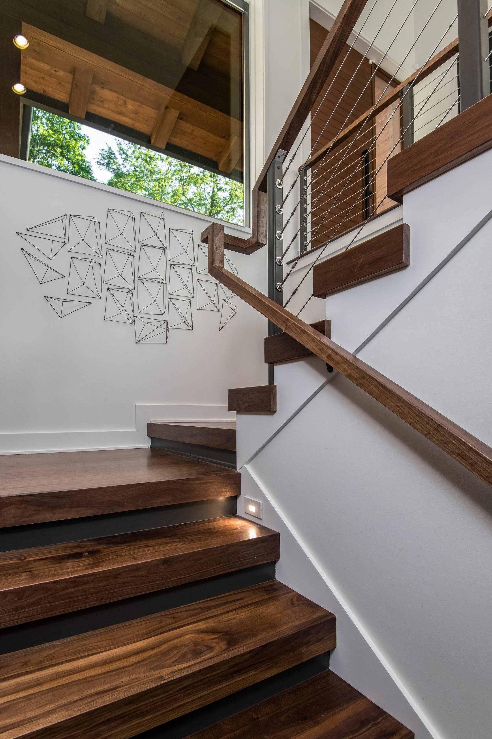 75 Beautiful Wooden Staircase Pictures Ideas September 2020 | Wooden Staircases For Sale | Cheap | Steel | Landing | House | New Model