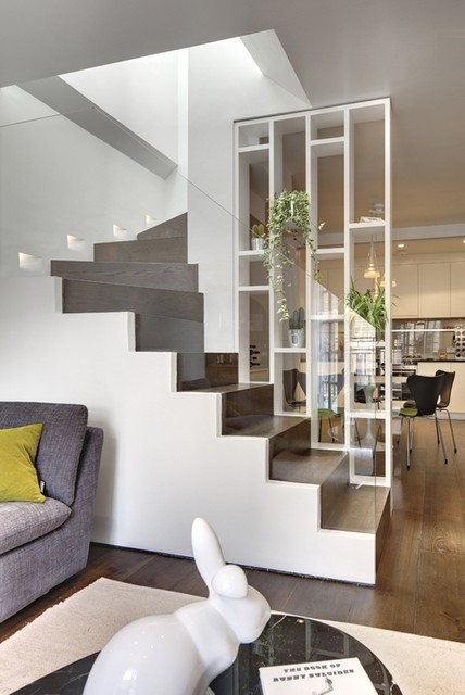 Staircase Wall Decorating Ideas Contemporary Staircase Other | Interior Design Staircase Wall | Luxurious Home | Unique | Beautiful | Fancy | Building Interior