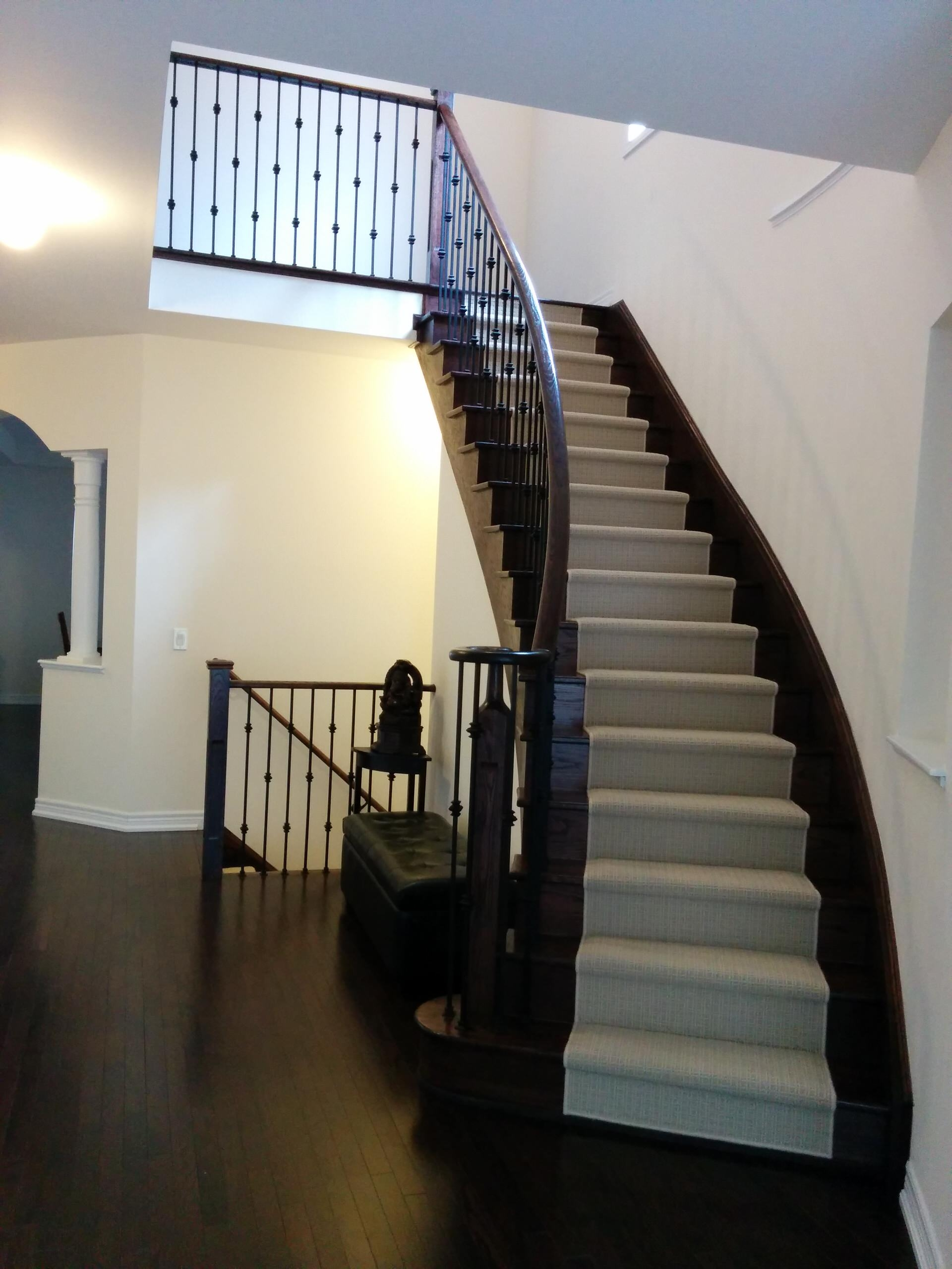 Wool Stair Runner Houzz   Wool Carpet Runners For Stairs   Flooring   Woven   Rectangular Cord Treads   Stair Country Style   Modern