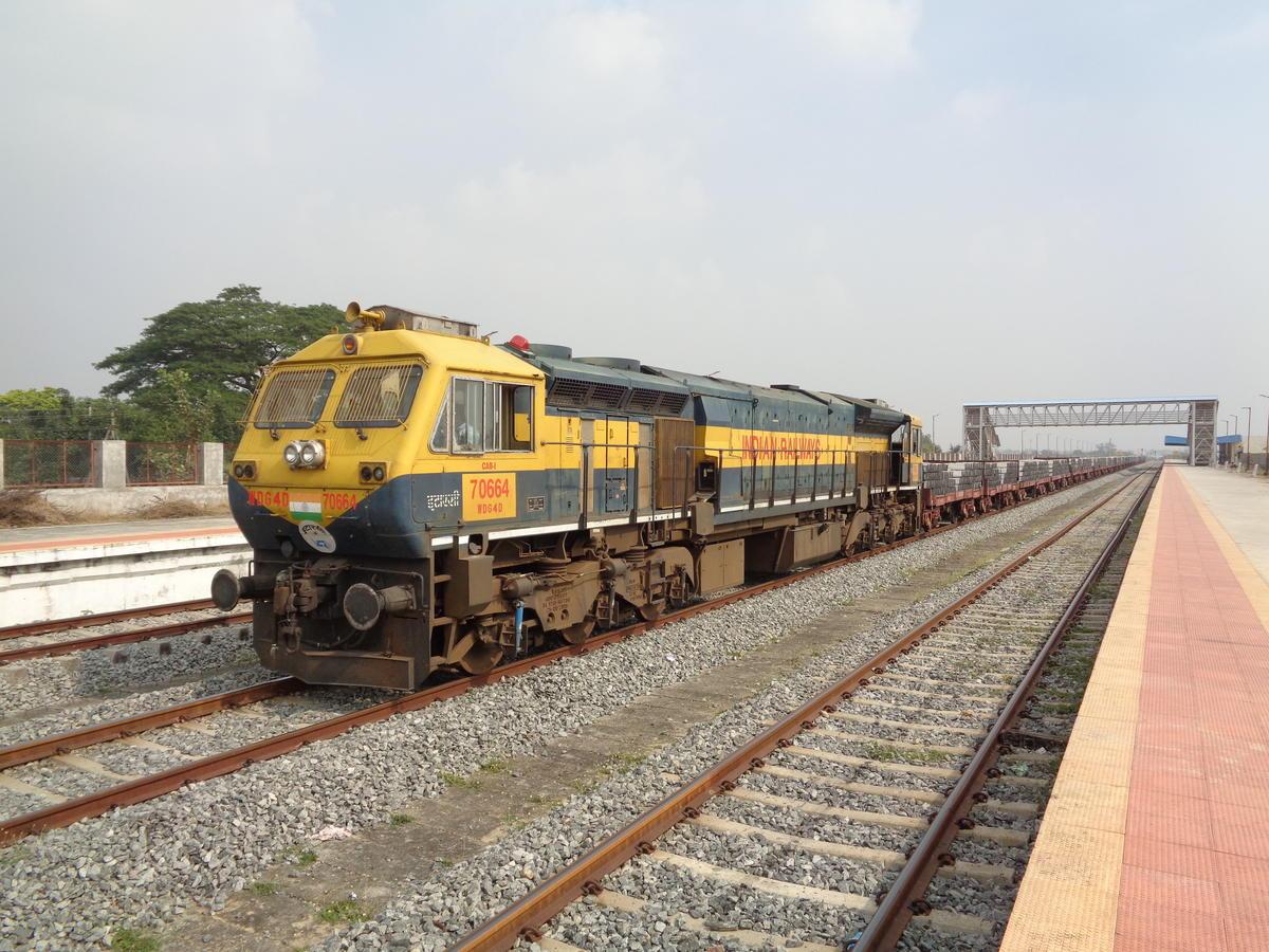 Nizamabad Station Train