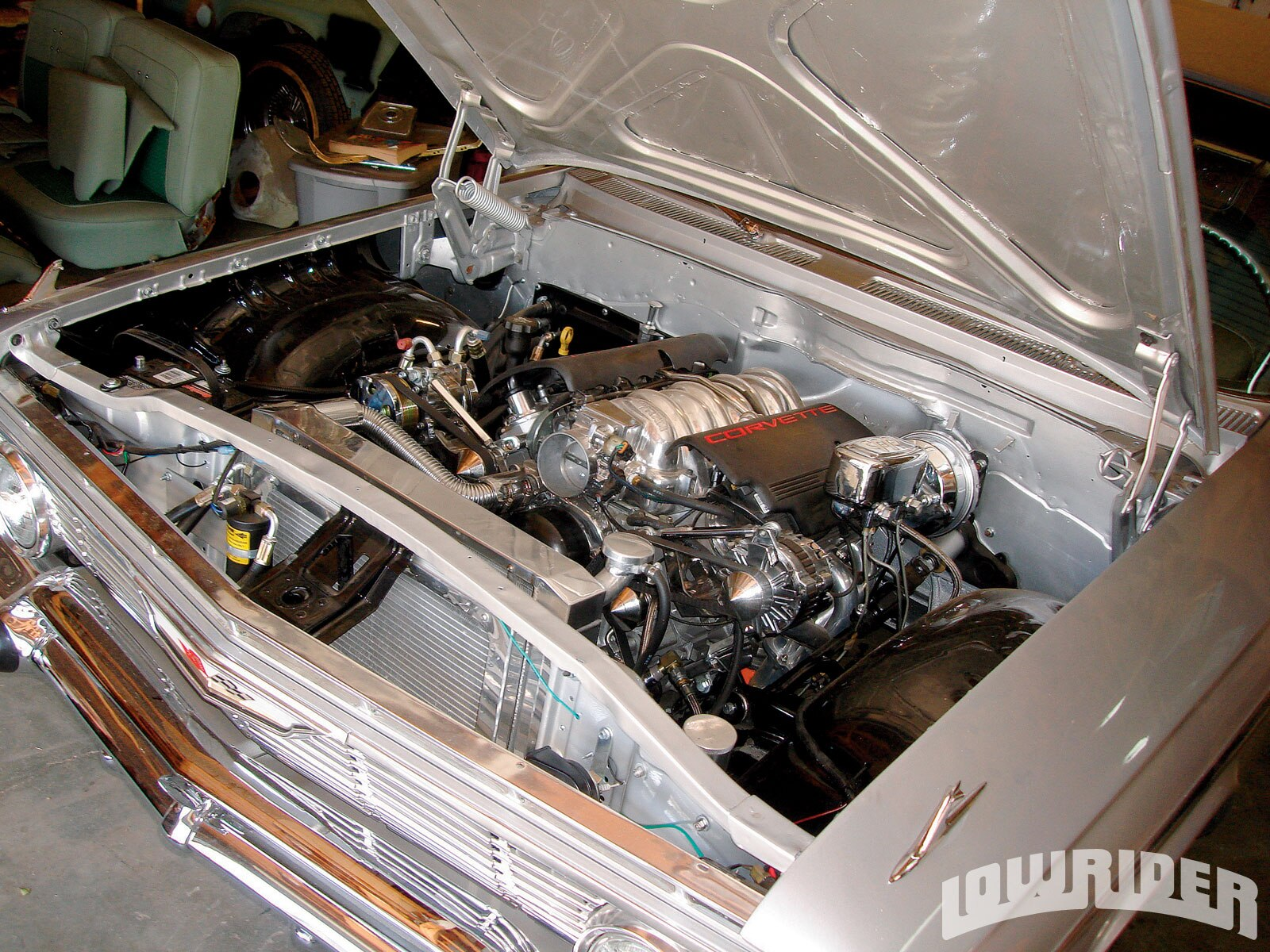 1961 Chevy Impala Hydraulics Convertible Lowrider
