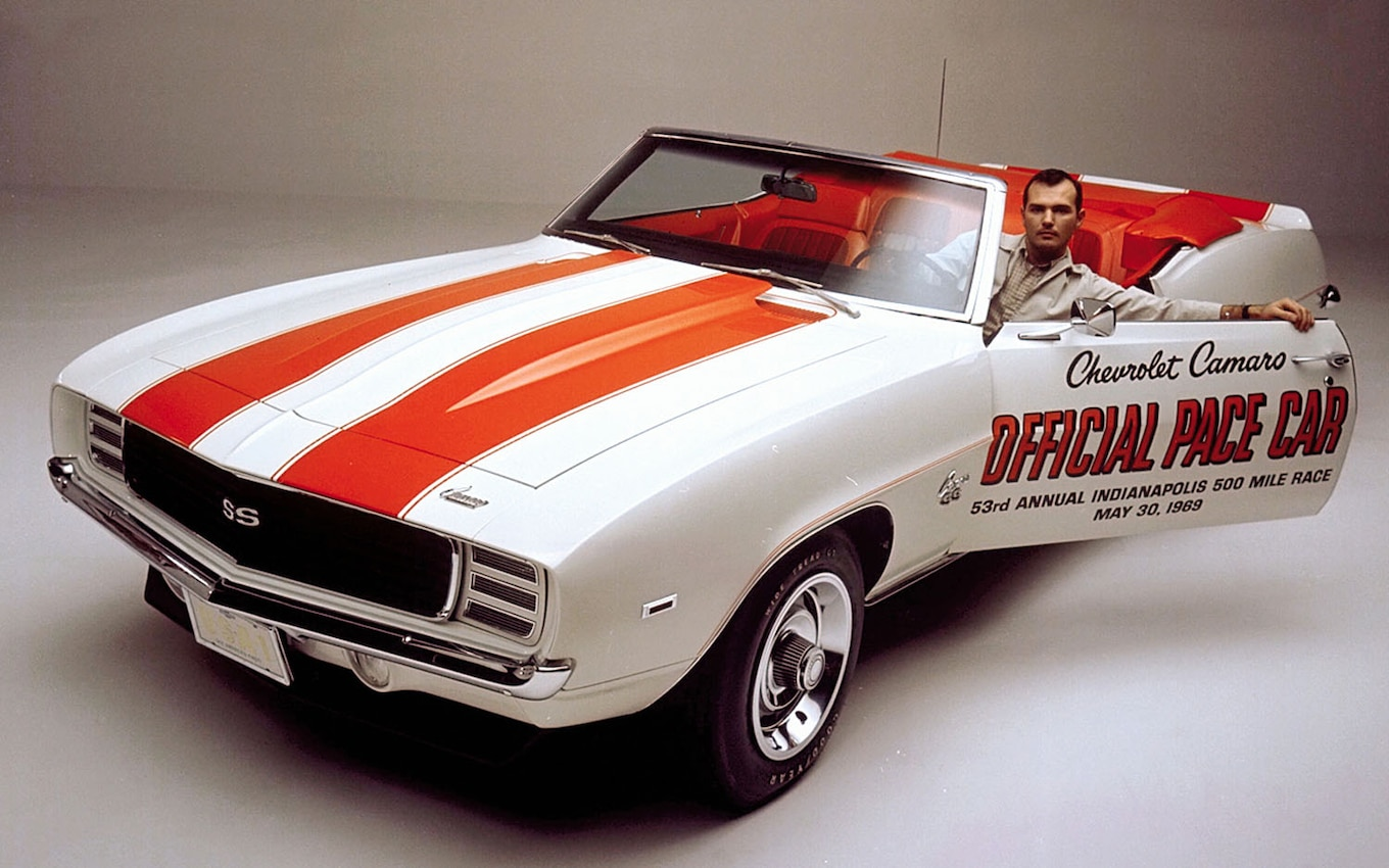 """Chevrolet Crowns 1969 Camaro """"Best Chevy of All Time"""""""
