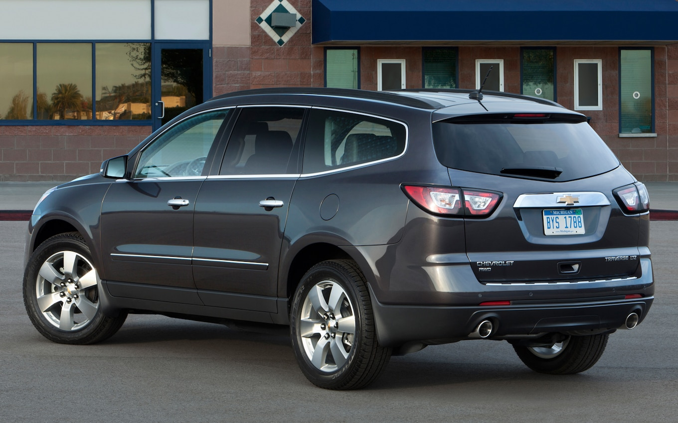 2013 Traverse Production Date
