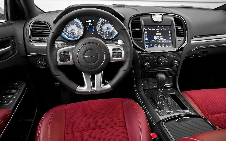 Red Black Chrysler Srt8 Interior 2013 300