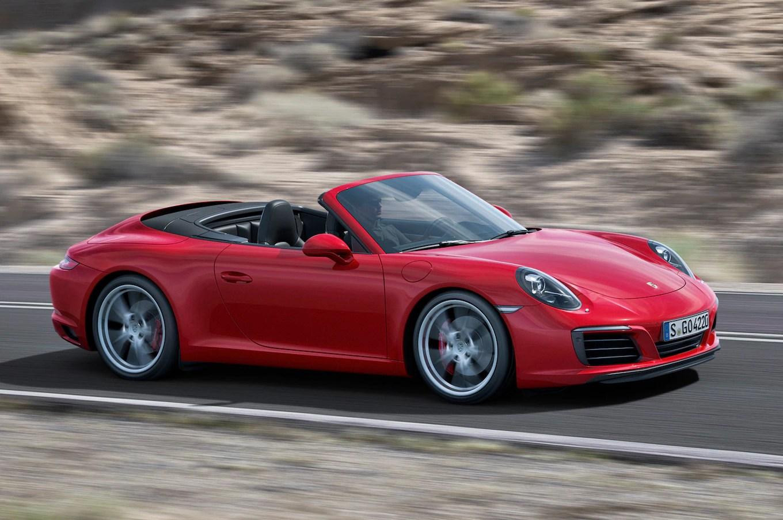 2017 Porsche 911 Carrera Gets All Turbocharged Engine Lineup