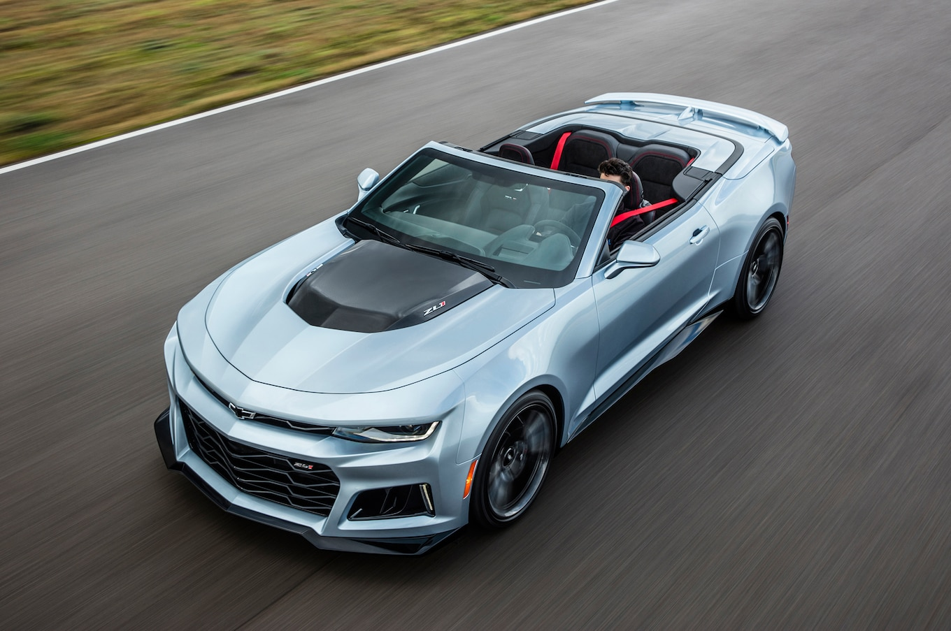 2017 Chevrolet Camaro ZL1 Convertible First Drive - Motor ...