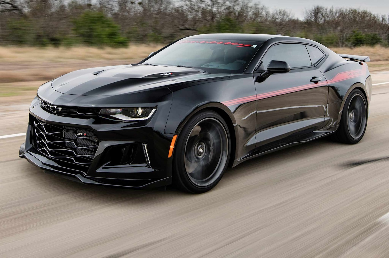 Watch the Hennessey Exorcist Camaro ZL1 Hit 217 MPH ...