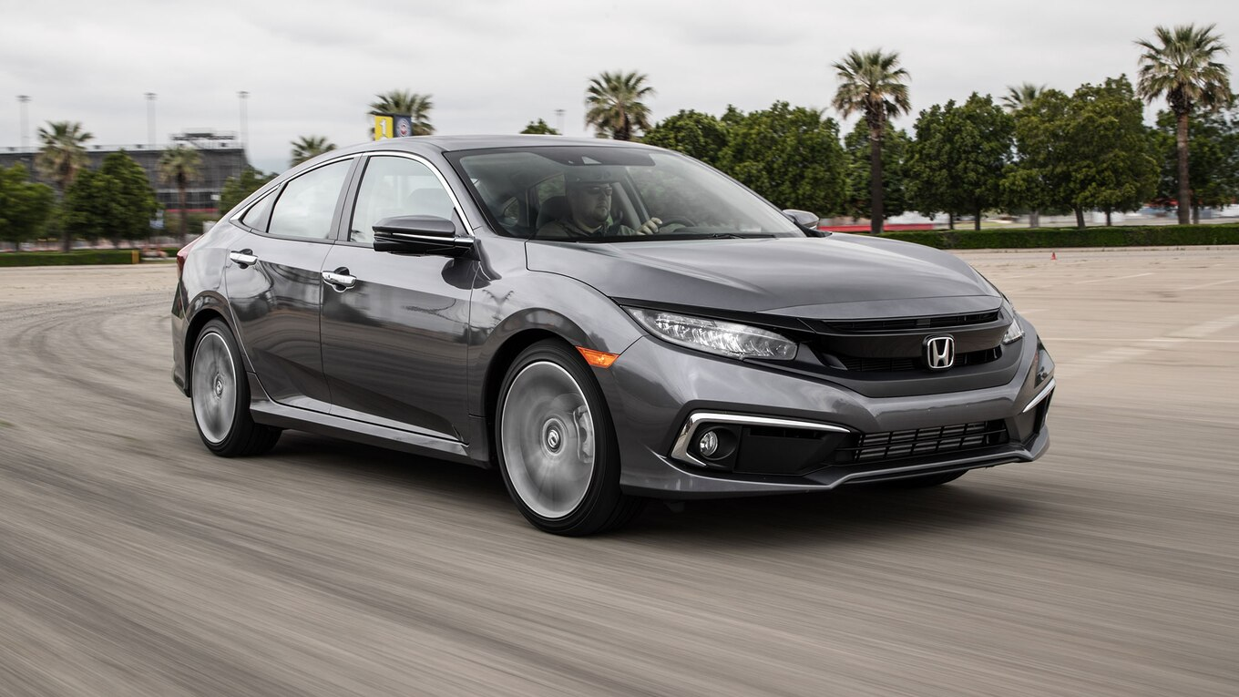 2019 Honda Civic Touring First Test Here To Stay Motortrend