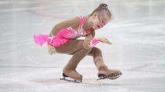 Как научить кататься на коньках