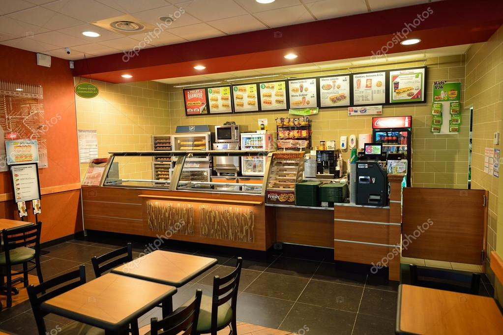 Different Fast Food Restaurants