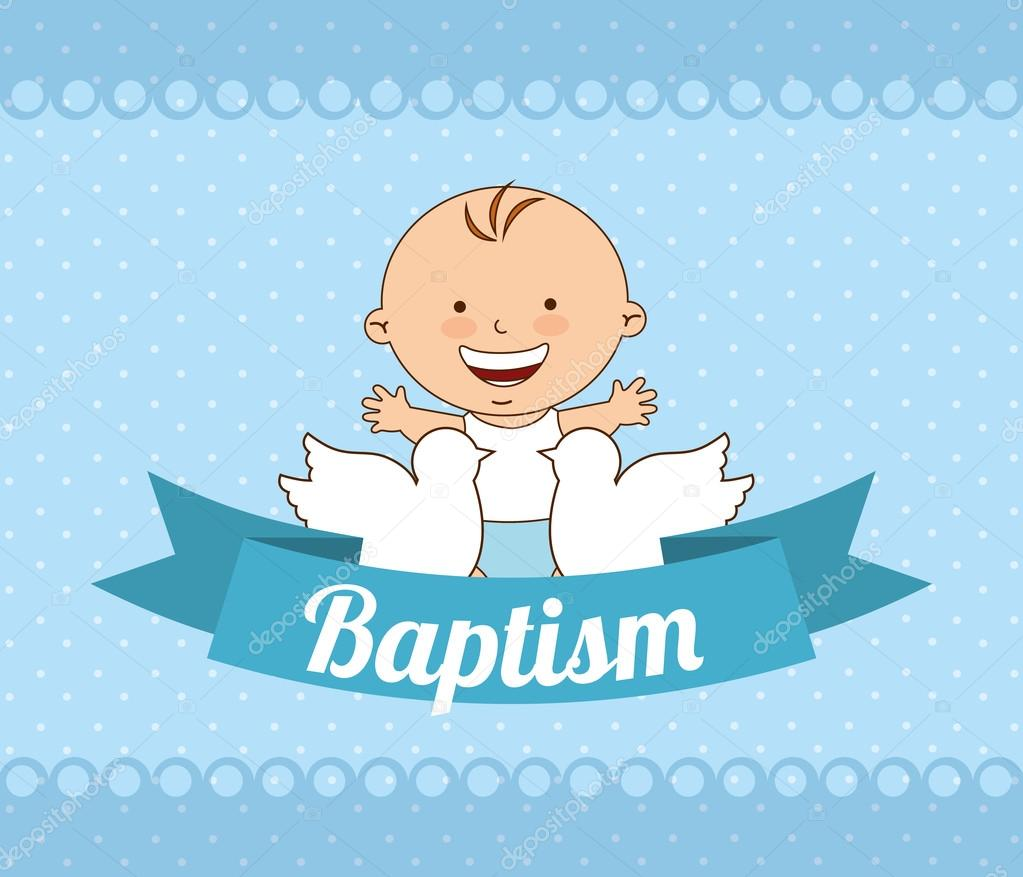 Christening Invitation Template Baby Boy