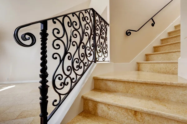 ᐈ Iron Stair Railings Stock Pictures Royalty Free Iron Railing | Black Iron Stair Railing | Wrought Iron | Staircase | Beautiful Staircase | Outdoor Handrail Stair | Residential Stair