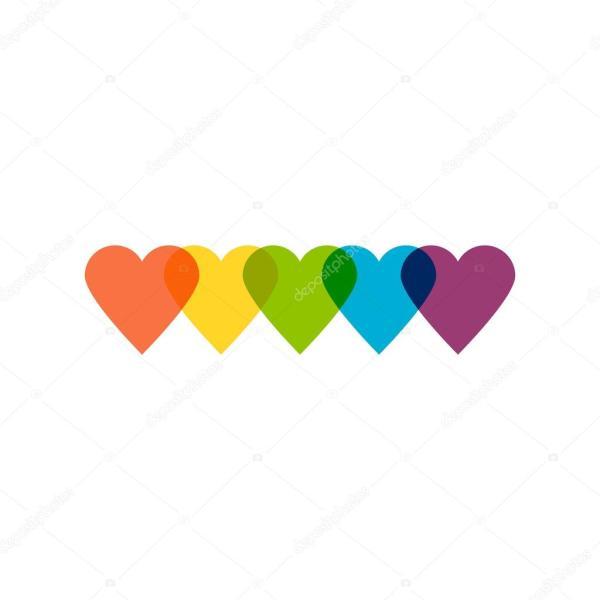 hearts colors # 21