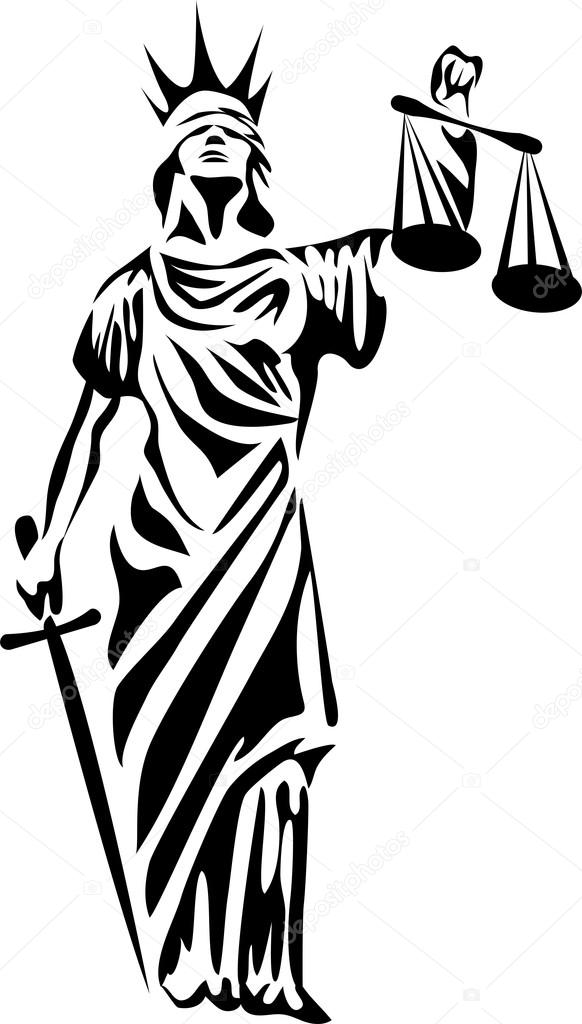 Symbols Of Liberty And Justice