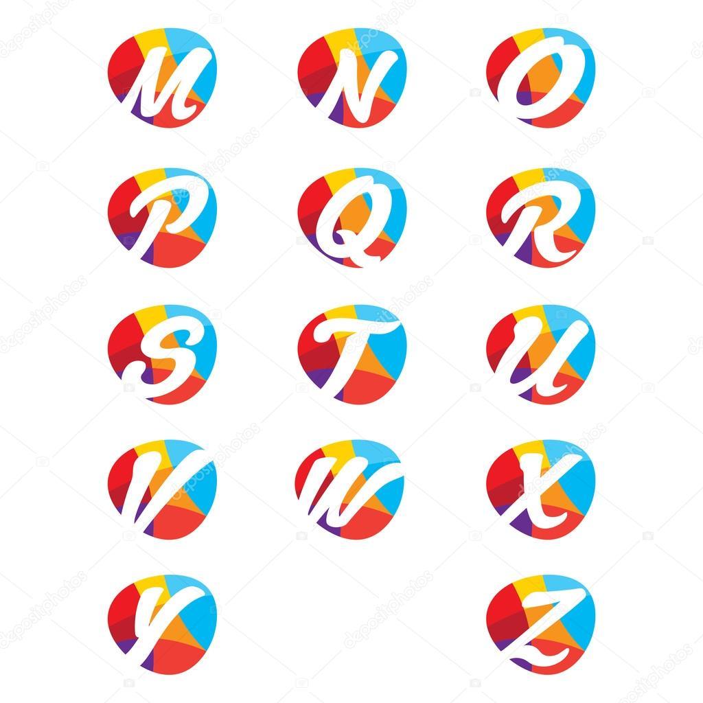 creative alphabet letters - HD1300×1390