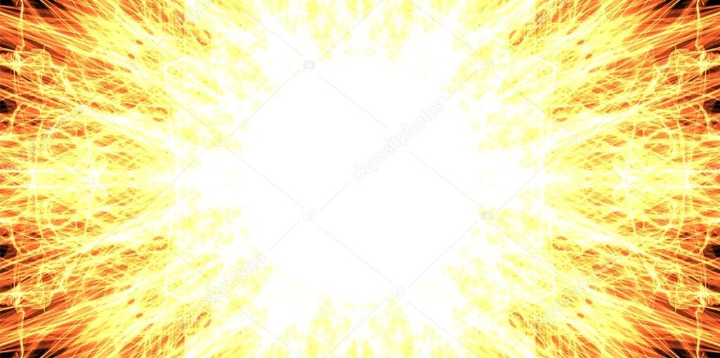 Fire Explosion Background