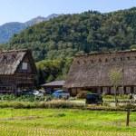 Alte japanische Häuser — Stockfoto #106154052