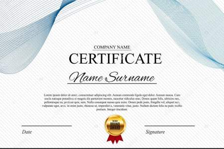 Certificate template Background  Award diploma design blank  Vector     Certificate template Background  Award diploma design blank  Vector  Illustration EPS10     Vector by Yganko