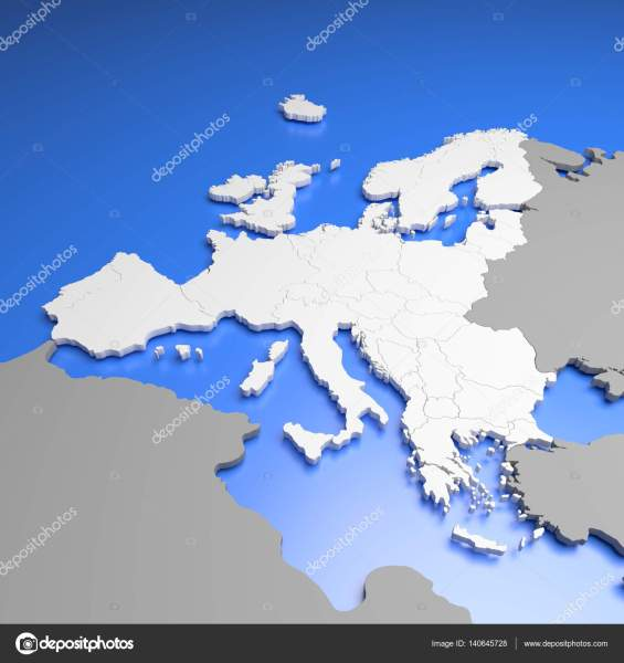 3D Europe map     Stock Photo      MaleWitch  140645728 3D illustration of european countries map     Photo by MaleWitch