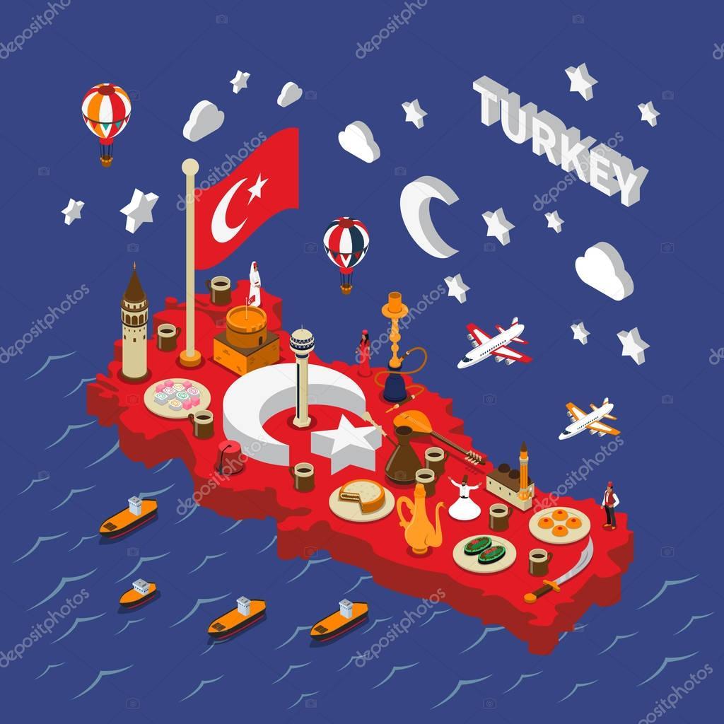 Religious Turkish Symbols