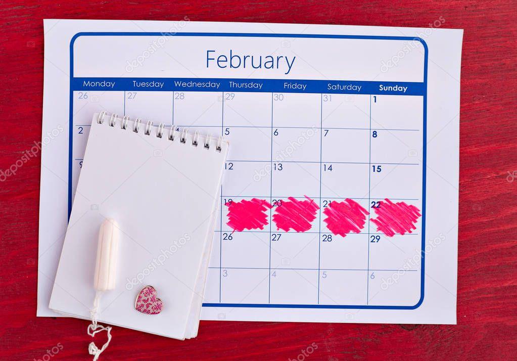 counting menstrual cycle calendar - HD1500×1167