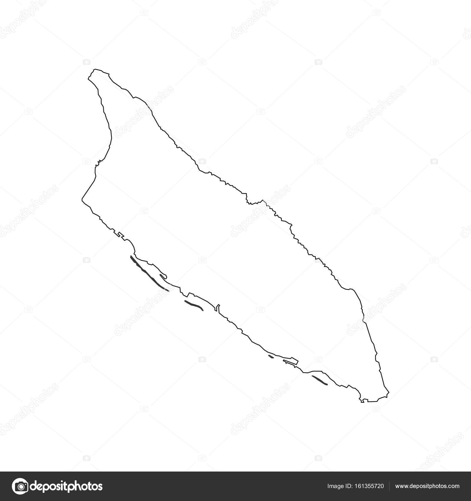 Aruba map outline     Stock Vector      parkheta gmail com  161355720 Aruba map outline on the white background  Vector illustration     Vector by  parkheta gmail com