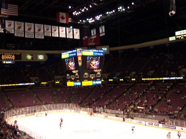 #35 IZOD Center « Stadium and Arena Visits