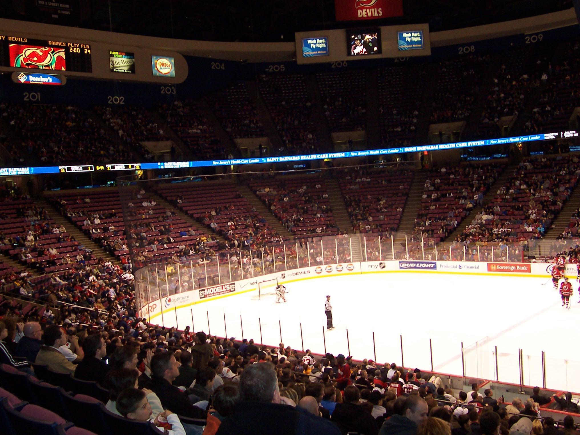 IZOD Center – Stadium and Arena Visits