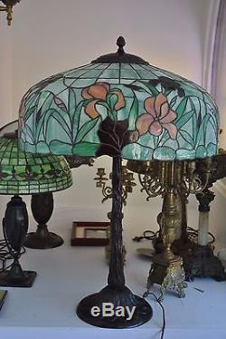 Arts Amp Crafts Art Nouveau Williamson Whaley Handel Leaded