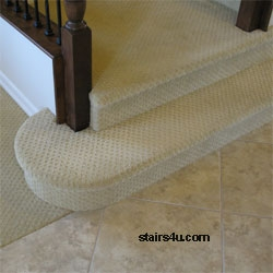 Installing Carpet Stair Treads | Installing Carpet Stair Treads | Anti Slip | Bullnose Carpet | Stair Risers | Indoor Stair | Wooden Stairs