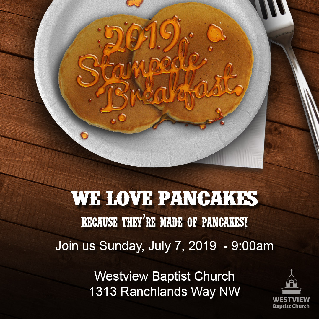 Westview Stampede Breakfast Stampede Breakfast 2019