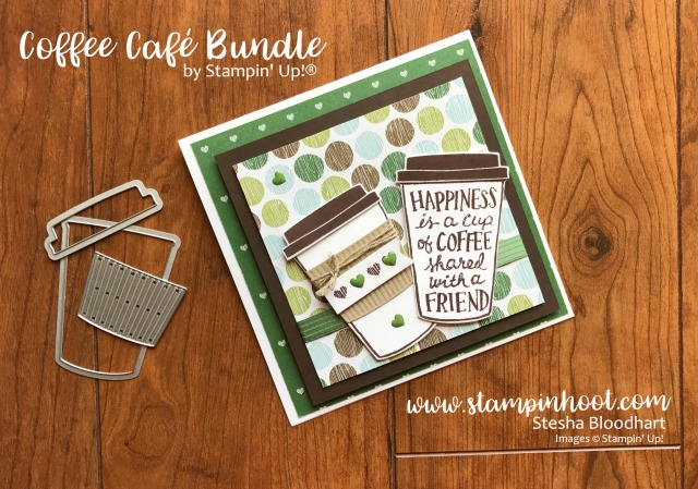 Coffee Stamps Stampin