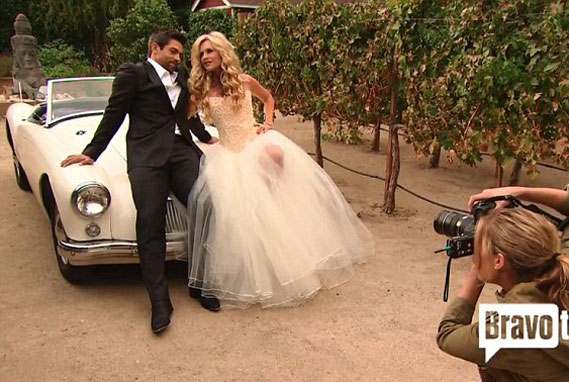 Tamra Barney Wedding Guests At Her S