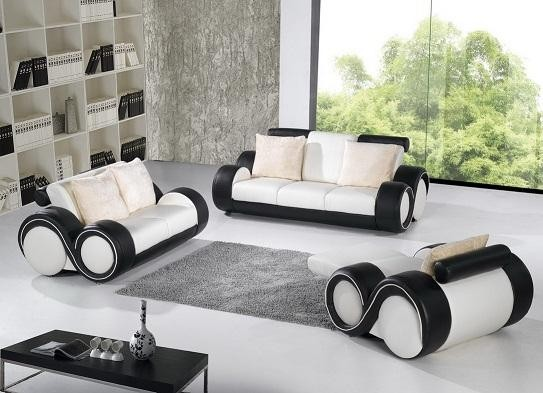 Leather Loveseat And Chair Set